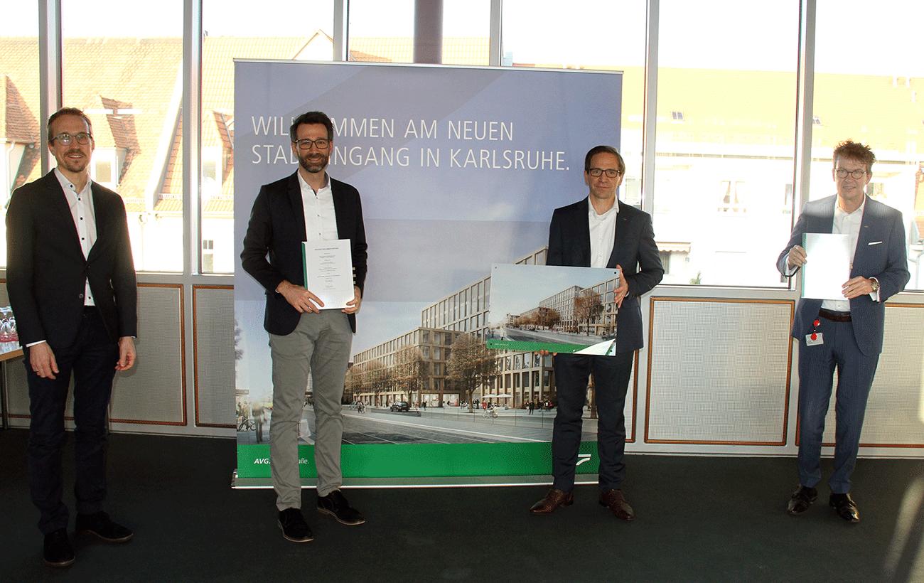 Mietvertragsunterzeichnung AVG und aramido GmbH
